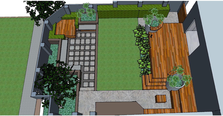 Landscape Design Aerial